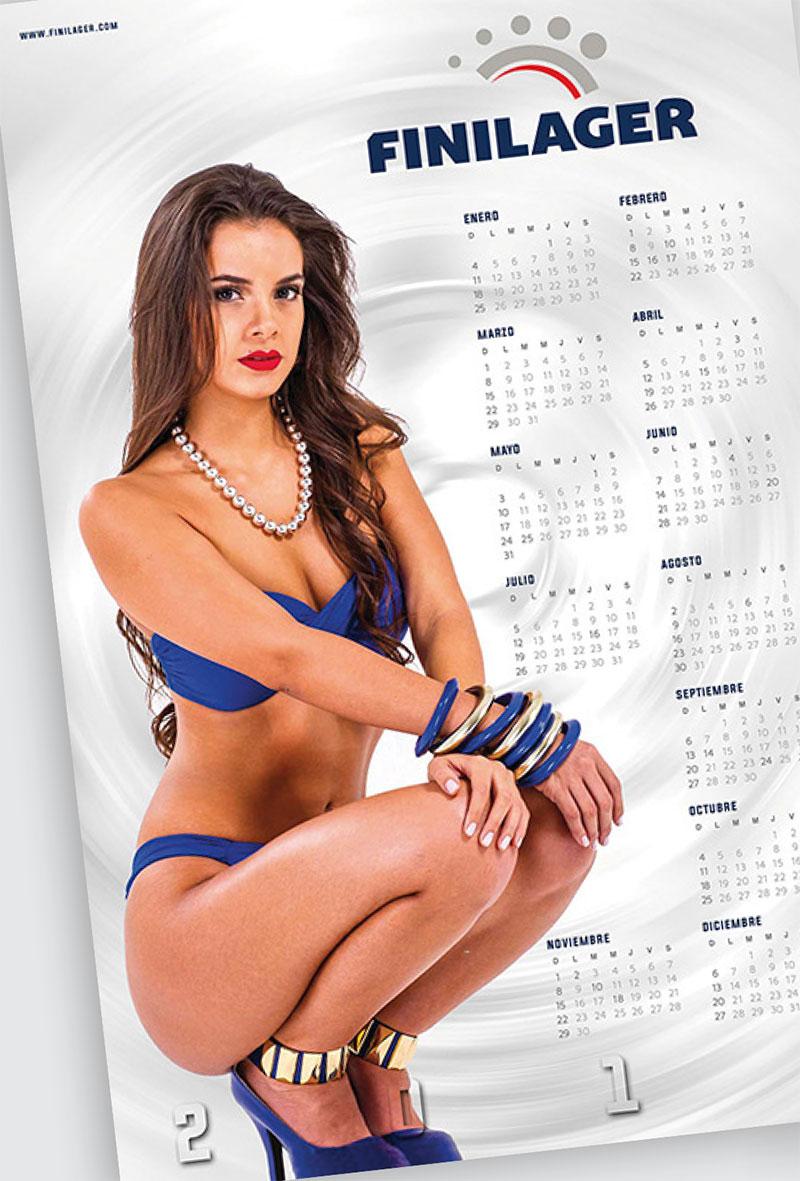Mariana, la chica calendario del 2015
