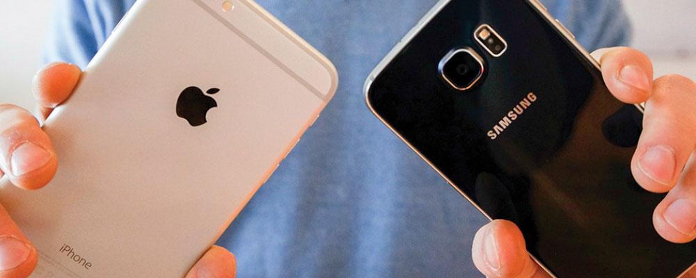 SAMSUNG S6 VS. iPHONE 6 ¿CUÁL ES MEJOR?